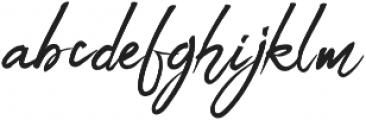 Billabong Beach Script otf (400) Font LOWERCASE