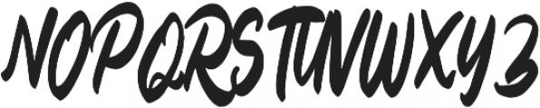 Billey otf (400) Font UPPERCASE