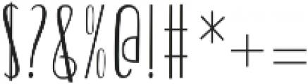 Billgrotia Sans Regular otf (400) Font OTHER CHARS