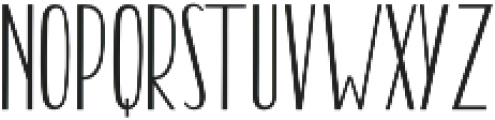 Billgrotia Sans Regular otf (400) Font UPPERCASE