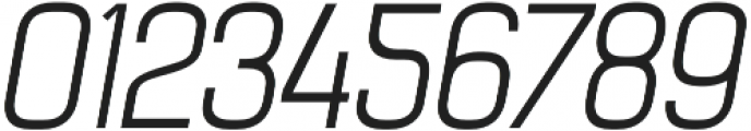 Billian Light Oblique otf (300) Font OTHER CHARS