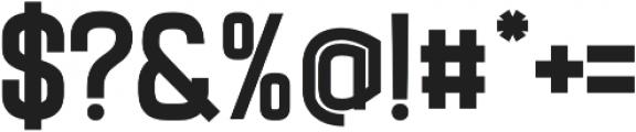 Billian otf (700) Font OTHER CHARS