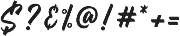 Billskates otf (400) Font OTHER CHARS