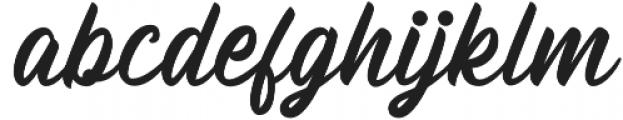 Billskates otf (400) Font LOWERCASE