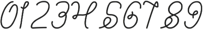 Billy Jean Style ttf (400) Font OTHER CHARS
