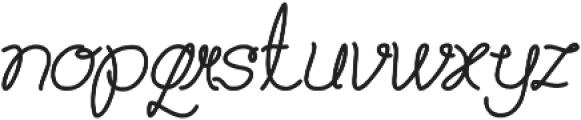 Billy Jean Style ttf (400) Font LOWERCASE