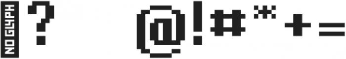 Billy otf (400) Font OTHER CHARS