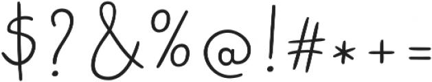 Bimbo Finetip otf (400) Font OTHER CHARS