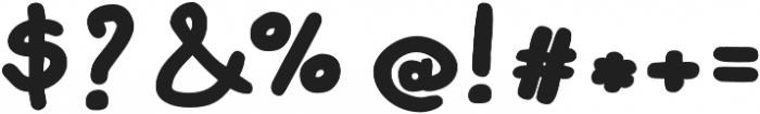 Bimbo Jumbo otf (400) Font OTHER CHARS