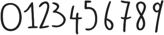Bimbo otf (400) Font OTHER CHARS