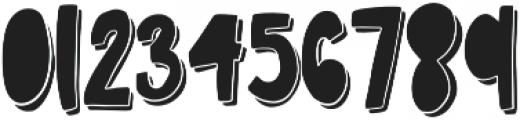 BingeWatchCLN Regular otf (400) Font OTHER CHARS