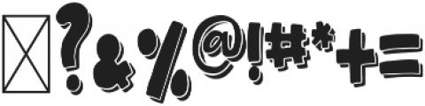 BingeWatchCLN Regular ttf (400) Font OTHER CHARS