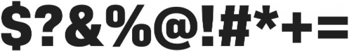Bio Sans ExtraBold otf (700) Font OTHER CHARS