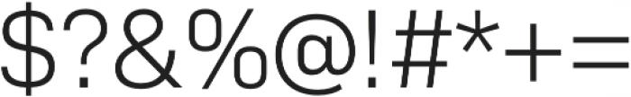Bio Sans Light otf (300) Font OTHER CHARS