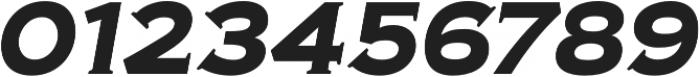 Biondi Bold Italic otf (700) Font OTHER CHARS