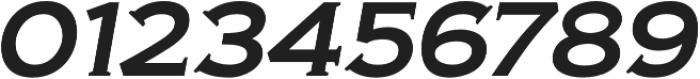 Biondi Italic otf (400) Font OTHER CHARS