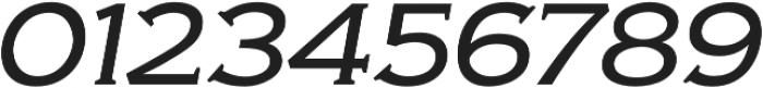 Biondi Light Italic otf (300) Font OTHER CHARS