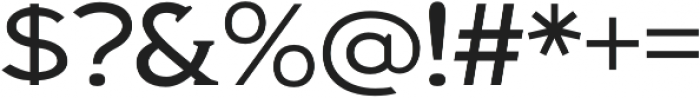 Biondi Light otf (300) Font OTHER CHARS