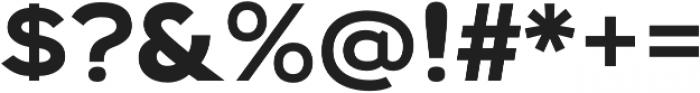 Biondi Sans Bold otf (700) Font OTHER CHARS