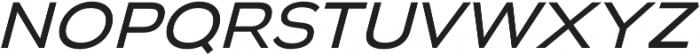 Biondi Sans Book Italic otf (400) Font LOWERCASE