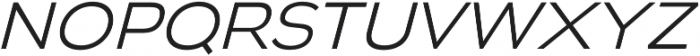 Biondi Sans Light Italic otf (300) Font LOWERCASE