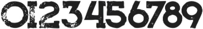 Bionic Grunge otf (400) Font OTHER CHARS