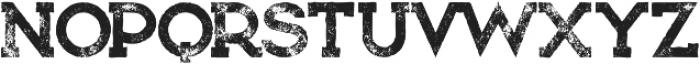 Bionic Grunge otf (400) Font UPPERCASE