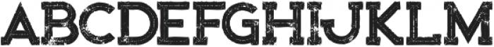 Bionic Inline Grunge otf (400) Font UPPERCASE