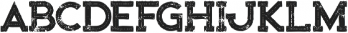 Bionic Inline Grunge otf (400) Font LOWERCASE