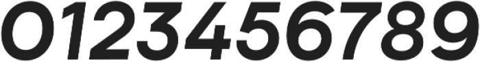 Biotif Bold Italic otf (700) Font OTHER CHARS