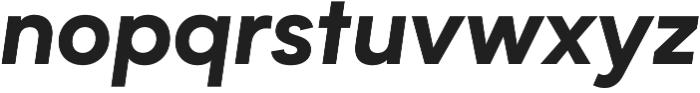 Biotif ExtraBold Italic otf (700) Font LOWERCASE