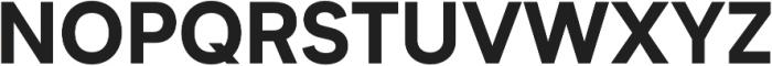 Biotif ExtraBold otf (700) Font UPPERCASE