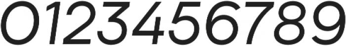 Biotif Regular Italic otf (400) Font OTHER CHARS