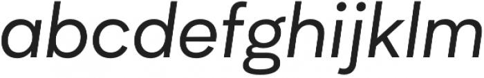 Biotif Regular Italic otf (400) Font LOWERCASE