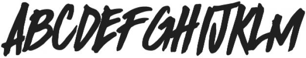 Birada! otf (400) Font LOWERCASE