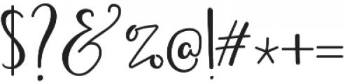BirbyBoldAlt2 otf (700) Font OTHER CHARS