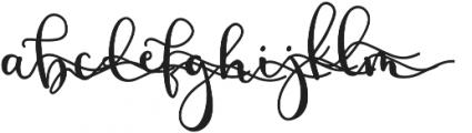 BirbyBoldAlt2 otf (700) Font LOWERCASE