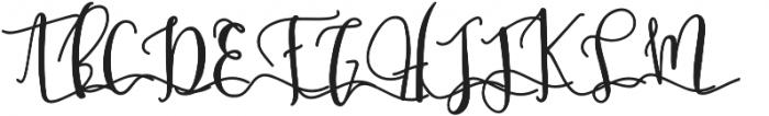 BirbyBoldAlt4 otf (700) Font UPPERCASE