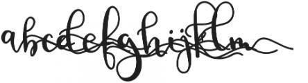 BirbyBoldAlt4 otf (700) Font LOWERCASE