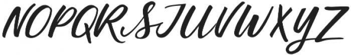 Birds of Paradise Italic otf (400) Font UPPERCASE
