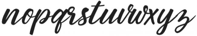 Birds of Paradise Italic otf (400) Font LOWERCASE