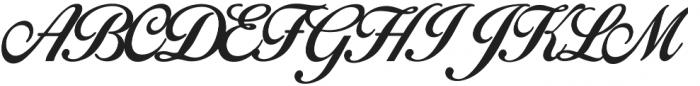 Birds of Paradise otf (400) Font UPPERCASE