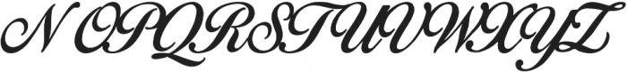 Birds of Paradise ttf (400) Font UPPERCASE