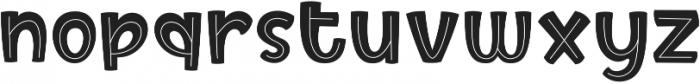 Birly ttf (400) Font LOWERCASE