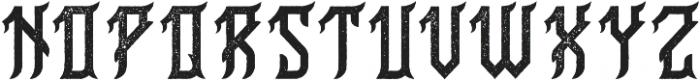 Birmingham Aged otf (400) Font UPPERCASE