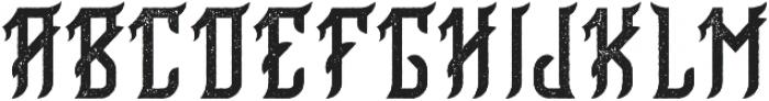 Birmingham Aged otf (400) Font LOWERCASE