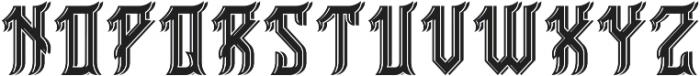 Birmingham ShadowAndLight otf (300) Font LOWERCASE