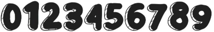 Birthday Cake otf (400) Font OTHER CHARS