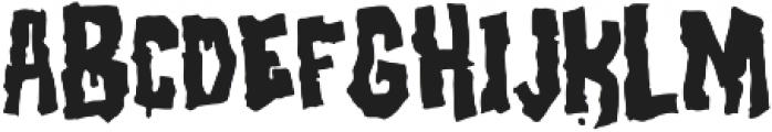 Birthday Massacre Fill otf (400) Font UPPERCASE