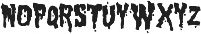 Birthday Massacre Fill otf (400) Font LOWERCASE